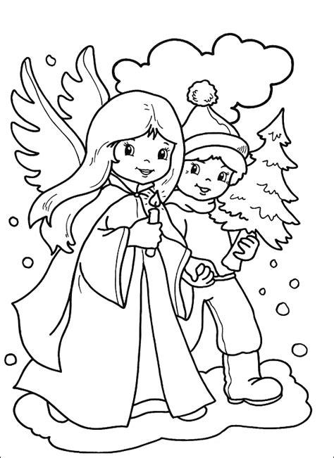 ausmalbilder weihnachten engel malvorlagentvcom
