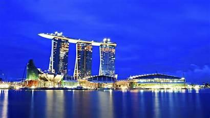 Singapore 4k Night Wallpapers Wide 1080p Screen