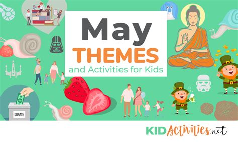 May Themes And Activities For Kids