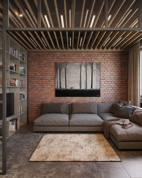 Exposed Brick Two Ways simple shabby chic