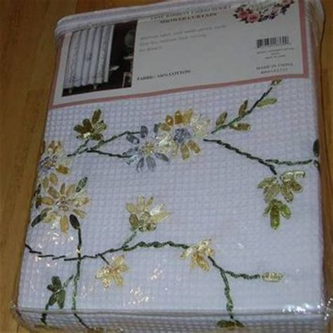 ribbon embroidery shower curtain from blessed one2012 on