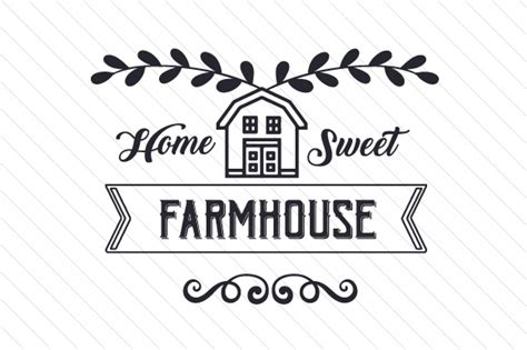 house plans country farmhouse home farmhouse svg cut file by creative fabrica
