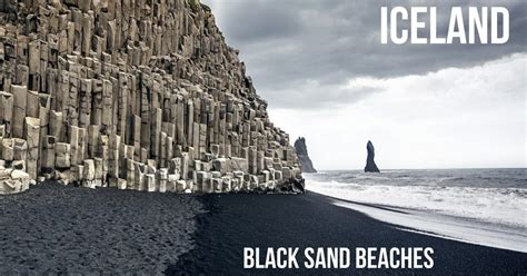 Best Black Sand Beaches Iceland Reynisfjara Diamond