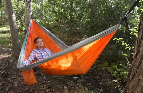 Survival Hammock by Ust Ultimate Survival Slothcloth Hammock 2 0 Orange Gray
