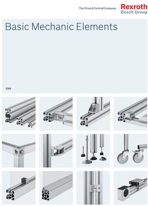 aluminium profile system with connection elements bosch rexrothtorfsconstruct