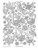 Coloring Doodles Notebook Volinski Jess Doodle Adult Colouring Patterns Activity Beginner Bordado Animal sketch template