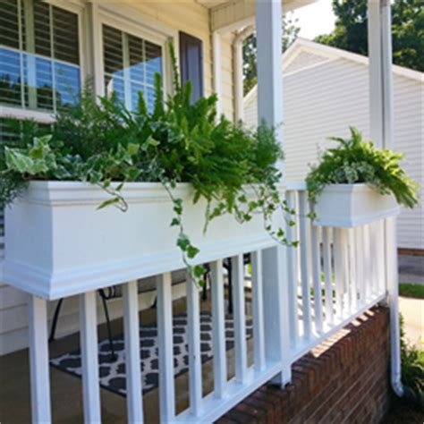 rail hanging planters gallery of window boxes to on