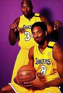 Shaq And Kobe La Lakers La Lakers Nba Basketball
