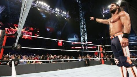 wwe rumors seth rollins injury reportedly    minute change  plans  raw