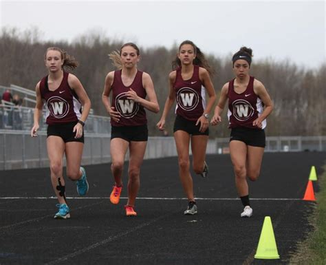 Dual-sport Athlete Provides Spark For Parma Western Track
