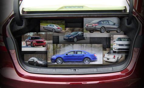 top  large sedans   biggest trunks autoguide