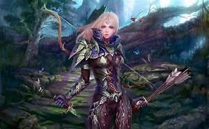 Fantasy, Art, Women, Weapon, Arrows, Knife, Wallpapers, Hd