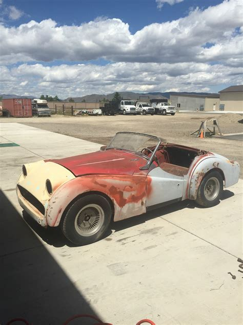 Project For Sale by 1959 Triumph Tr3 Roadster Project For Sale