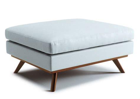 mid century ottoman best modern couches mid century modern storage ottoman