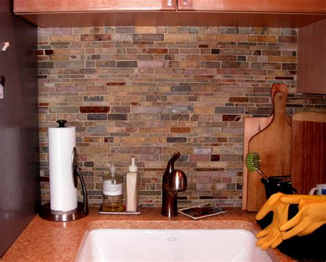 slate backsplash tiles for kitchen kitchen dining splash nature backsplash for your