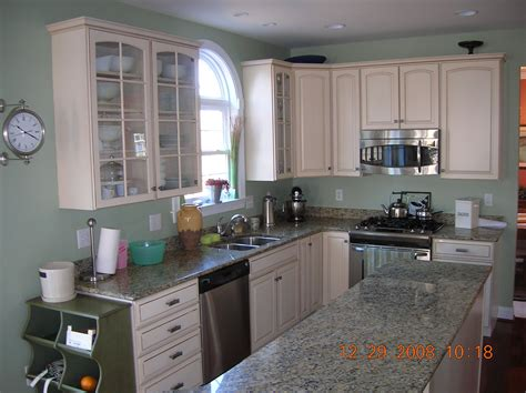 Sherwin Williams Softened Green-great Color For Kitchen