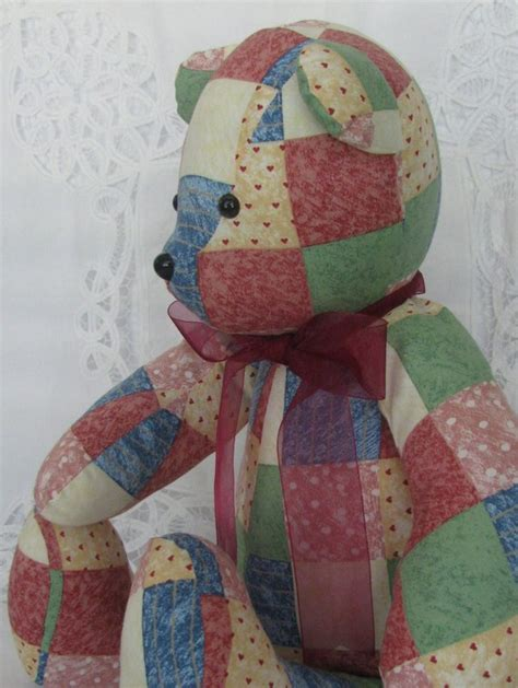 patchwork memory bears  patch  love