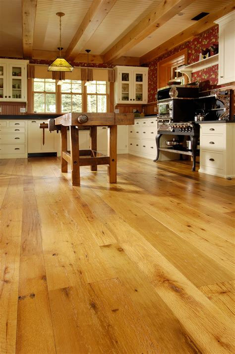 warm flooring for kitchen reclaimed oak floors in kitchen with radiant heat 7000