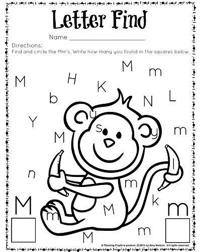 cute letter find worksheets with a freebie worksheets