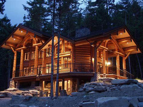 Log Homes By Log & Timber Works  Log & Timber Works