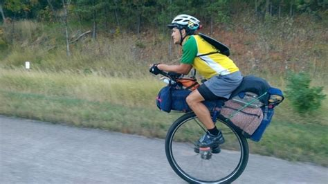 Unicycle touring -- how common? - Bicycles Stack Exchange