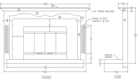 building  fireplace mantle  woodworking