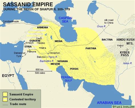 Persian Empire Map On Pinterest