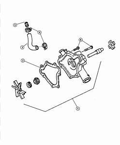 1996 Dodge Ram 1500 Water Pump Diagram