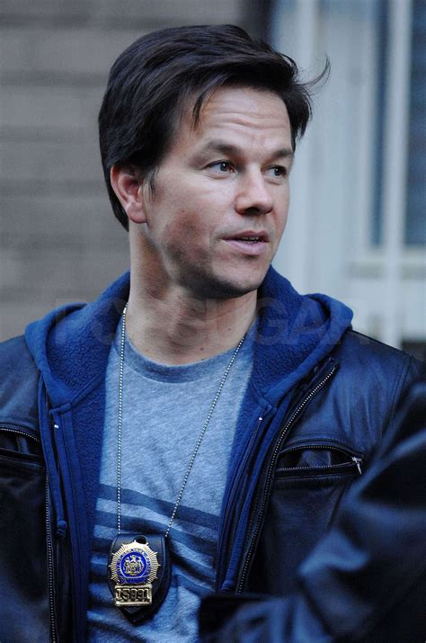 Photos of Mark Wahlberg on the set of The Other Guys in ...