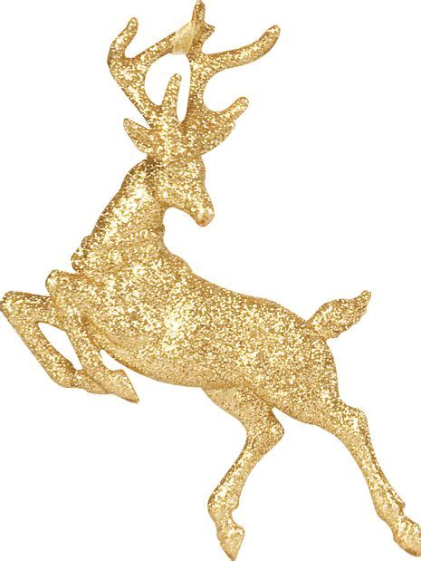 linea mystical soft gold leaping glitter reindeer review
