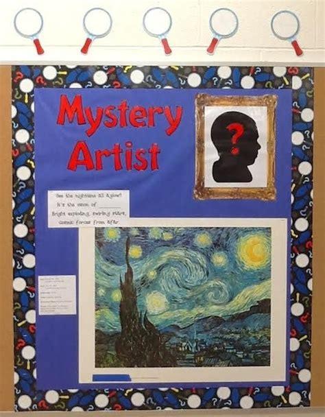 sneak   art history   mystery artist board