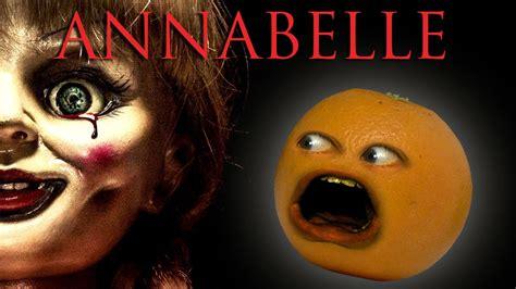 annoying orange annabelle trailer trashed youtube