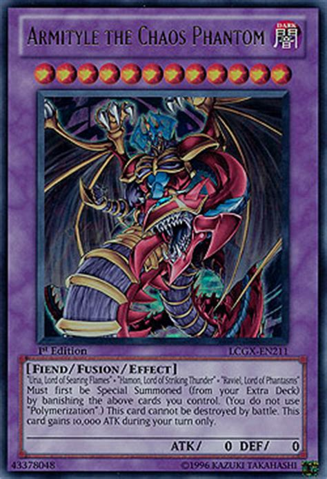 Armityle The Chaos Phantom Deck 2010 by Armityle The Chaos Phantom Legendary Collection 2