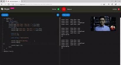 Skype Code Editor Coding Remote Job Geekwire