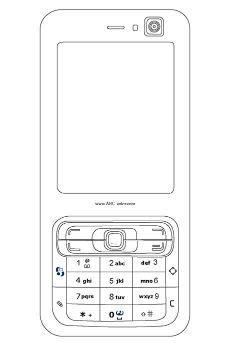 how to print pictures your phone cell phone coloring pages chuckbutt