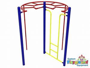 A new TWIST on the traditional Monkey Bars ...