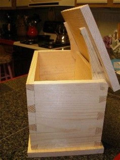 dovetail recipe box plans woodworking projects plans