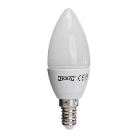 ikea ledare led chandelier bulb e14 200 lumens 25 watt