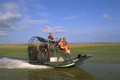 Fan Boat Ride Miami by Everglades Airboat Adventure Tour With Transportation