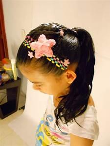 10 Nuevos peinados para niña con trenzas y cintas paso a paso Peinados para niñas