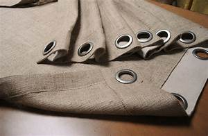 Rideau Toile De Jute : rideau toile de jute ~ Farleysfitness.com Idées de Décoration