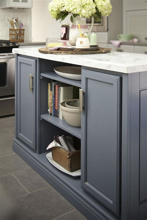 kitchen island from stock cabinets photo page hgtv 8179