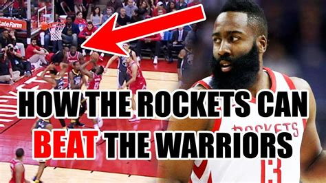 The Only Way The Rockets Can Beat The Warriors In The Nba
