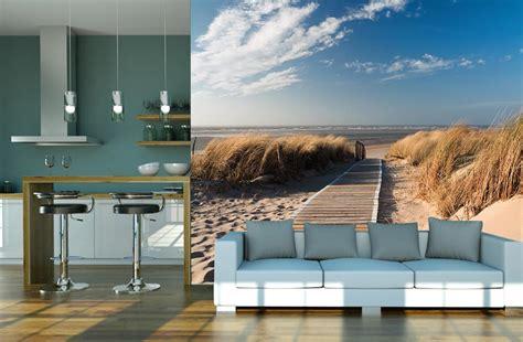petit canapé chambre ado poster panoramique dune de sur le chemin des dunes