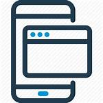 Icon Application Desktop App Website Software Smpp