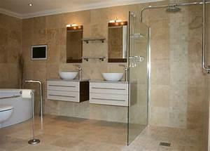 Carrelage Et Salle De Bain : carrelage mural salle de bains avec cuisine carrelage salle de bain effet pierre carrelage mural ~ Melissatoandfro.com Idées de Décoration