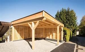 Holz Und Raum : schutz vor wind und wetter mit einem holz carport ~ A.2002-acura-tl-radio.info Haus und Dekorationen