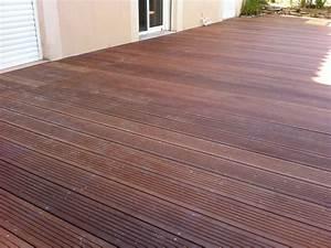 Lame De Terrasse Bois Brico Depot : lame de terrasse en bois exotique ~ Dailycaller-alerts.com Idées de Décoration