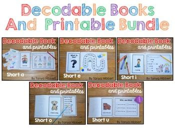 decodable books  tanya hibbert teachers pay teachers
