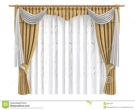 Curtains : Curtains Royalty Free Stock Photos